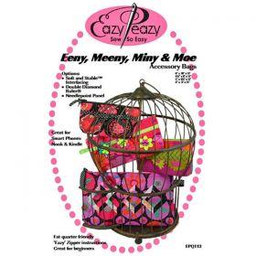 Eeny, Meeny, Miny & Moe Accessory Bags Pattern