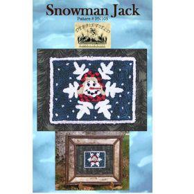 SNOWMAN JACK NEEDLE PUNCH PATTERN*