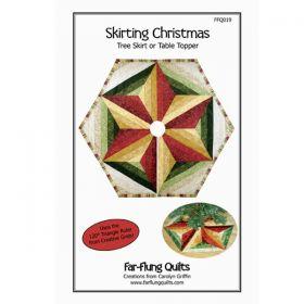 Skirting Christmas Tree Skirt or Table Topper Pattern