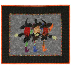 WITCHES' NIGHT OUT! QUILT PATTERN