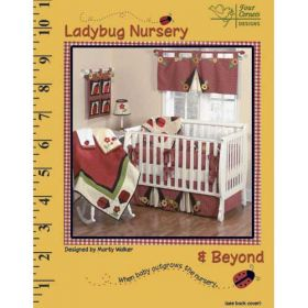 LADYBUG NURSERY QUILT PATTERN BOOK