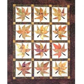 Lazy Leaves Quilt Pattern