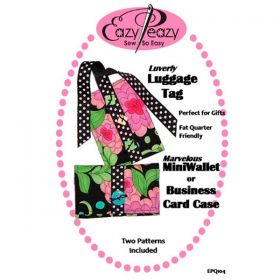 Luverly Luggage Tag & Mini Wallet Pattern