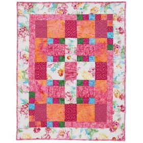 Her Little Garden Baby or Throw Quilt Pattern