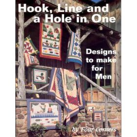 HOOK LINE & A HOLE IN ONE QUILT PATTERN BOOK