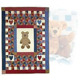 QUINCY BEAR'S BABY QUILT PATTERN BOOK