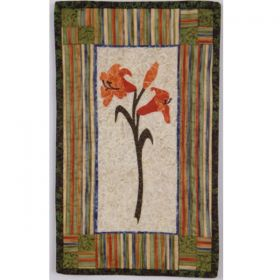 Lovely Lillies Wall Hanging Pattern