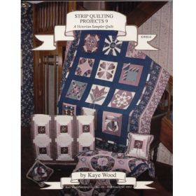STRIP QUILTING PROJECTS 9 QUILT PATTERN BOOK*