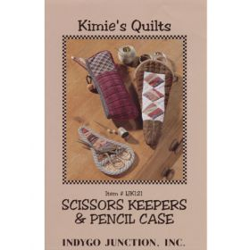 SCISSORS KEEPERS AND PENCIL CASE