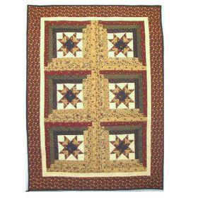 Six Pack Mini Quilt - NORTHUMBERLAND STAR*