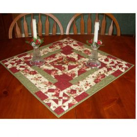CROSSING PATHS TABLE  QUILT