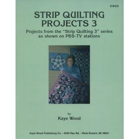 STRIP QUILTING PROJECTS 3 QUILT PATTERN BOOK*