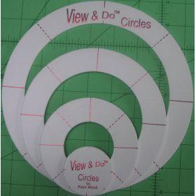 VIEW & DO CIRCLE SHAPES