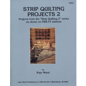 STRIP QUILTING PROJECTS 2 QUILT PATTERN BOOK*