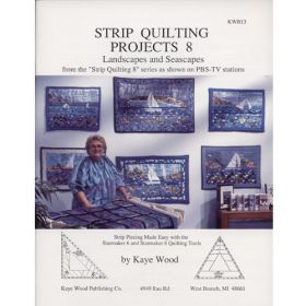 STRIP QUILTING PROJECTS 8 QUILT PATTERN BOOK*