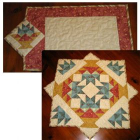 MAY BASKETS TABLE QUILT PATTERN*