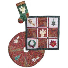 ONE CRAZY CHRISTMAS QUILT PATTERN
