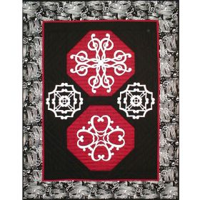 CLEF NOTES QUILT PATTERN