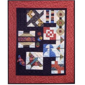 TOUCH OF THE EAST QUILT PATTERN