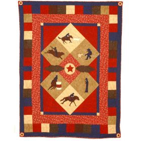 ROPIN' RODEO QUILT PATTERN