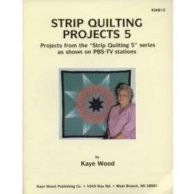 STRIP QUILTING PROJECTS 5 QUILT PATTERN BOOK*