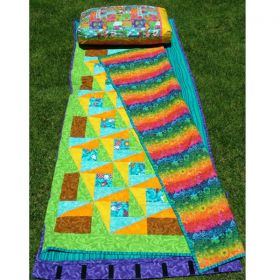 Youth Sleep Mat Quilt Pattern