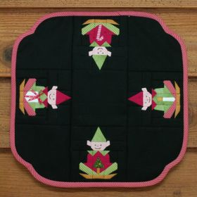 Elf Candle Mat Pattern