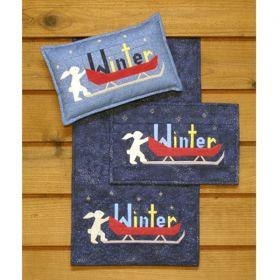 Winter Runner, Wall Quilt & Pillow Pattern