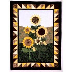 Sunflower Fields Wall Quilt Pattern