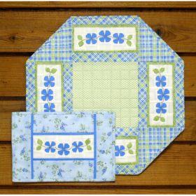 TABLE MAT - SPRING FLOWER PATTERN