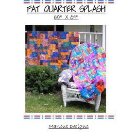 FAT QUARTER SPLASH PATTERN