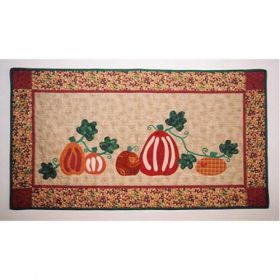 Sage Country Pumpkin Patch Wall Quilt Pattern
