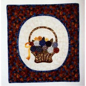 French Basket Bouquet Wall Quilt Pattern