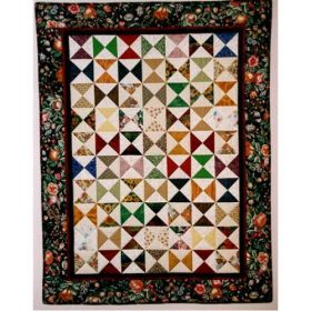 Charming Triangles Charm Square Quilt Pattern