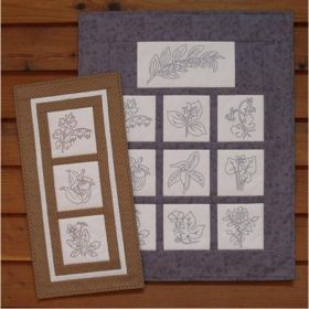 A Walk In The Woods Embroidery Quilt Pattern