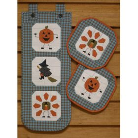 FACES OF FALL BANNER & TRIVET PATTERN