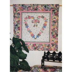 Heart in Bloom Wall Quilt Pattern