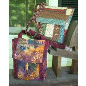 CROSS TOWN CARRY -STEPHANIE'S BAG PATTERN