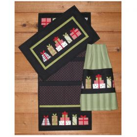 Christmas Presents Wall/Runner/Towel Quilt Pattern
