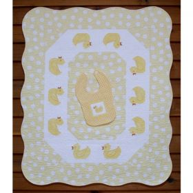 Puddle Duck Baby Quilt & Dribble Bib Pattern