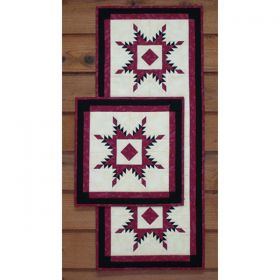 Feathered Star Wall Quilt & Runner Pattern