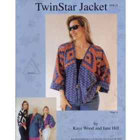 TWIN STAR JACKET QUILT PATTERN*