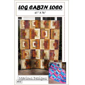 LOG CABIN LOCO PATTERN