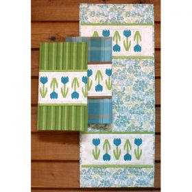 Spring Pickins Table Runner/Towel Pattern
