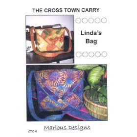 CROSS TOWN CARRY - LINDA'S BAG PATTERN