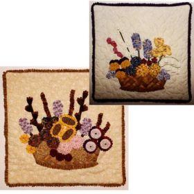 Bouquet Pillows Quilt Pattern