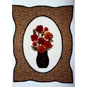 Poppies Wall Quilt Pattern
