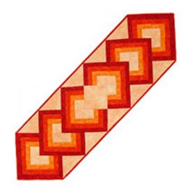Dynamic Diamonds Tablerunner Pattern