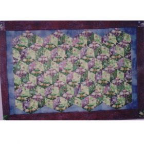 DIMENSIONAL DIAMONDS QUILT PATTERN*
