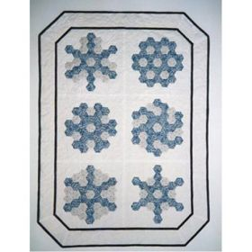 Grandmother's Snowflakes Wall Quilt Pattern